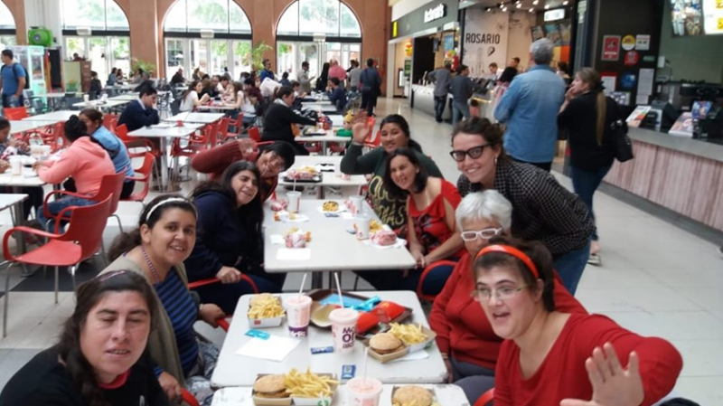 Inclusion social ( Shopping )